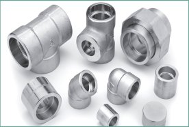 Forged high pressure fittings threaded